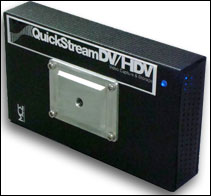"Quickstream DV/HDV 1/4-20"" Mount"
